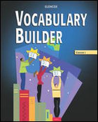 Vocabulary Builder, Course 3, Annotated Teacher Edition