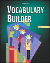 Vocabulary Builder, Course 4, Annotated Teacher Edition