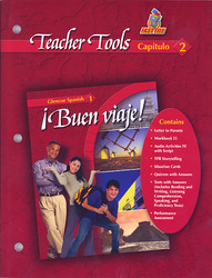 ¡Buen viaje! Level 1, TeacherTools Chapter 2