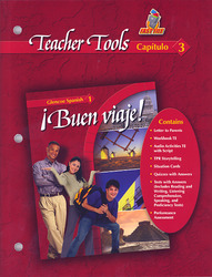 ¡Buen viaje! Level 1, TeacherTools Chapter 3