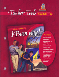¡Buen viaje! Level 1, TeacherTools Chapter 4