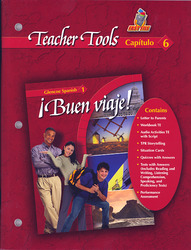 ¡Buen viaje! Level 1, TeacherTools Chapter 6