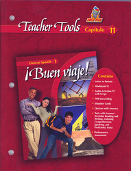 ¡Buen viaje! Level 1, TeacherTools Chapter 11