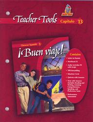 ¡Buen viaje! Level 1, TeacherTools Chapter 13