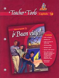 ¡Buen viaje!, Level 1, Teacher Tools Chapter 14