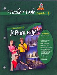 ¡Buen viaje! Level 2, TeacherTools Chapter 1