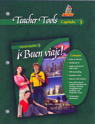¡Buen viaje! Level 2, TeacherTools Chapter 1