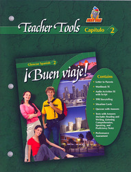 ¡Buen viaje! Level 2, TeacherTools Chapter 2