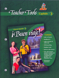 ¡Buen viaje! Level 2, TeacherTools Chapter 3