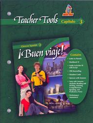 ¡Buen viaje! Level 2, TeacherTools Chapter 3