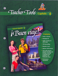 ¡Buen viaje! Level 2, TeacherTools Chapter 4