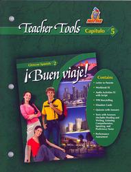 ¡Buen viaje! Level 2, TeacherTools Chapter 5