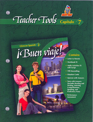 ¡Buen viaje! Level 2, TeacherTools Chapter 7