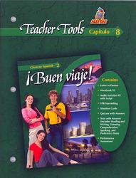 ¡Buen viaje! Level 2, TeacherTools Chapter 8