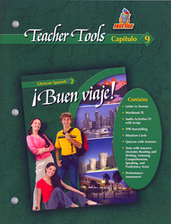 ¡Buen viaje! Level 2, TeacherTools Chapter 9