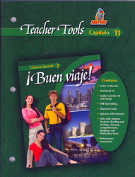 ¡Buen viaje! Level 2, TeacherTools Chapter 11