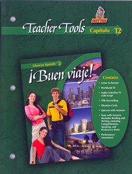 ¡Buen viaje! Level 2, TeacherTools Chapter 12