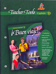 ¡Buen viaje! Level 2, TeacherTools Chapter 13