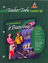 ¡Buen viaje! Level 2, TeacherTools Chapter 14