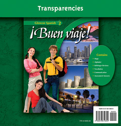 ¡Buen viaje! Level 2,  Transparency Binder