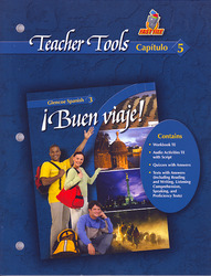 ¡Buen viaje! Level 3, TeacherTools Chapter 5