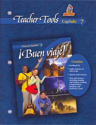 ¡Buen viaje! Level 3, TeacherTools Chapter 7