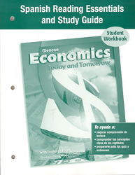 Economics Today and Tomorrow, Spanish Reading Essentials and Study Guide, Workbook