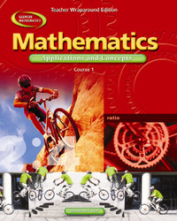 Mathematics: Applications and Concepts, Course 1, Teacher Wraparound Edition