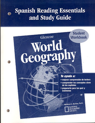 Glencoe World Geography, Spanish Reading Essentials and Study Guide, Workbook