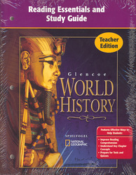 Glencoe World History, Reading Essentials and Study Guide, Teacher Edition