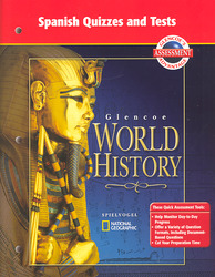 Glencoe World History, Spanish Quizzes and Tests