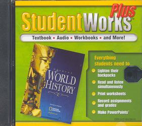 Glencoe World History, StudentWorks Plus CD-ROM