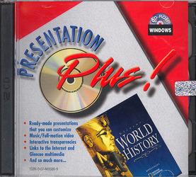 Glencoe World History, Presentation Plus! CD-ROM Win