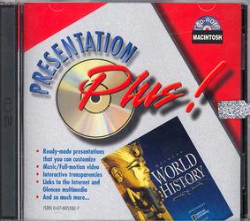 Glencoe World History, Presentation Plus! CD-ROM Mac