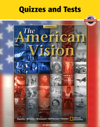 American Vision, Quizzes and Tests