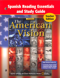 American Vision, Spanish Reading Essentials and Study Guide, Teacher Edition