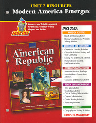 The American Republic to 1877, Unit 7 Resources