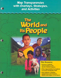 The World and Its People: Western Hemisphere, Europe, and Russia, Map Transparencies with Overlays, Strategies and Activities