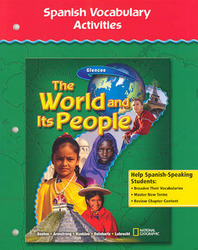 The World and Its People, Spanish Vocabulary Activities