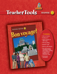 Bon voyage!, Level 1, Teacher Tools Chapter 1