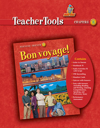 Bon voyage! Level 1, TeacherTools Chapter 8