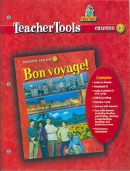 Bon voyage!, Level 1, Teacher Tools Chapter 10