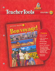 Bon voyage!, Level 1, Teacher Tools Chapter 14