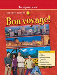 Bon voyage!: Level 1, Transparency Binder