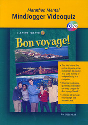Bon voyage! Level 2, MindJogger Videoquiz DVD
