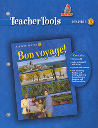 Bon voyage! Level 3, TeacherTools Chapter 8
