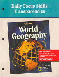 Glencoe World Geography, Daily Focus Transparencies