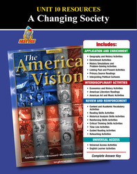 American Vision, Unit 10 Resources