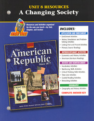 The American Republic Since 1877, Unit 8 Resources
