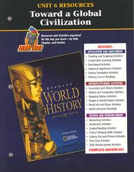 Glencoe World History, Unit 6 Resources